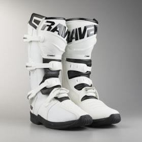 Raven Combat MX Boots White