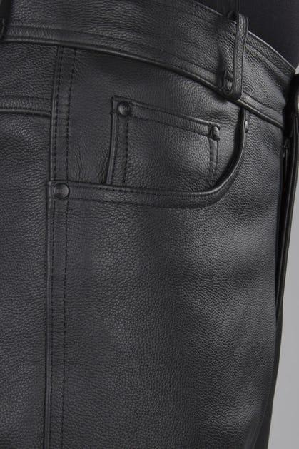 a48cf9888309 IXS Gaucho 3 Leather Trousers Black - Now 37% Savings - XLmoto.ie