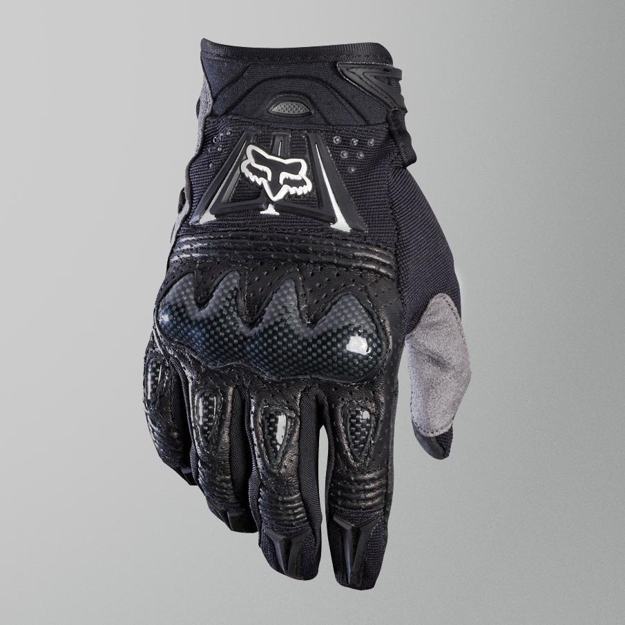 Fox Bomber Glove Black Black