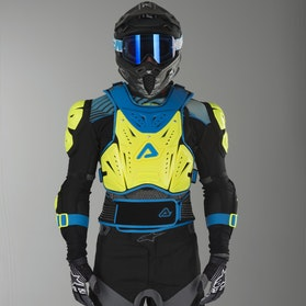 Acerbis Cosmo 2.0 Chest Protector Yellow & Blue