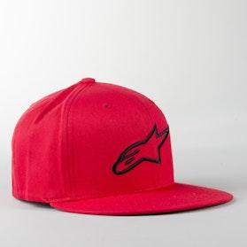 Alpinestars Ageless Flat Cap Red-Black