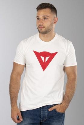 T-Shirt Dainese Speed Demon Biało-Czerwony