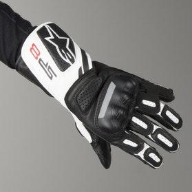 Alpinestars SP-8 V2 Women's Motorcycle Gloves - Light Grey