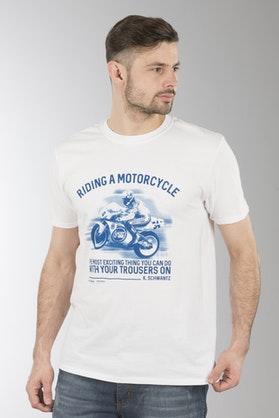 Koszulka  XLMoto Exciting Biała