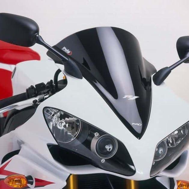 Puig Racing Yamaha YZF-R1 Windscreen Black - Lowest Price