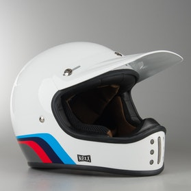 Kask Cross Nexx XG.200 Rok'On Niebieski