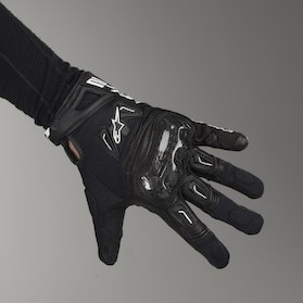 Alpinestars SMX-2 Air Motorcycle Gloves - Carbon Black