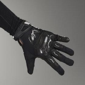 Rękawice motocyklowe Alpinestars SMX-2 Air Carbon Czarne