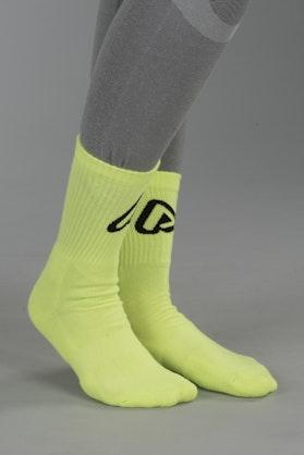 Skarpety Acerbis Żółte Fluorescencyjne