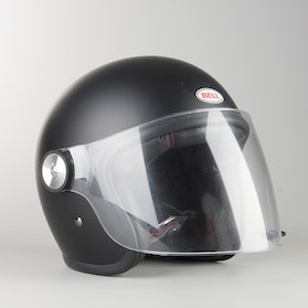 Kask Bell Riot Solid Czarny Matowy