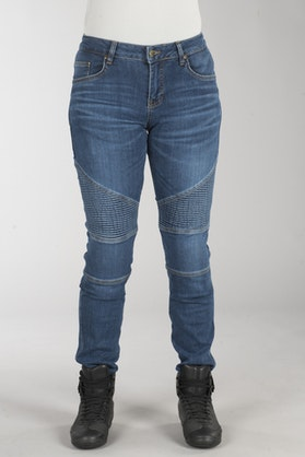 IXS Classic AR Moto Women's Jeans Blue