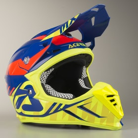 Acerbis Profile 3.0 S Helmet Blue-Yellow