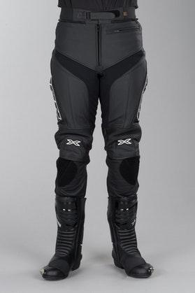 IXS Rouven Leather Trousers Long Black