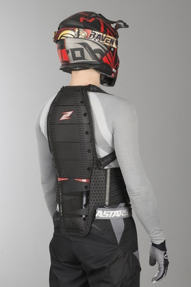 Zandona Spine EVC x8 Back Protection Black