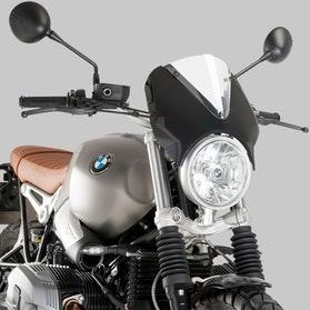 Owiewka Puig Retrovision BMW Czarna-Przezroczysta