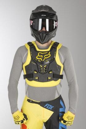 Fox MX 18 Proframe Lc CE Protection Vest Black Yellow