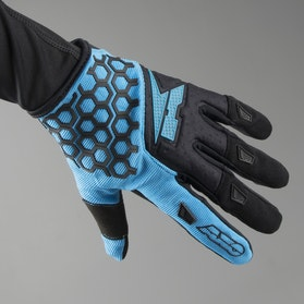 AXO Hexa MX Gloves Blue