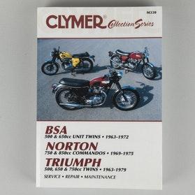 Reparationshåndbog Clymer Britiska Veteranmotorcykler