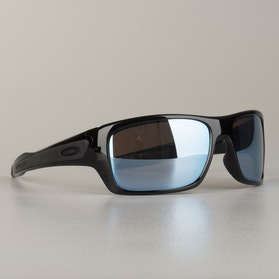 Oakley Turbine Frame Sunglasses Polished Black Prizm H20