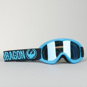 Motokrosové brýle Dragon MX Merge Modrá Dětský model