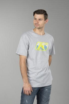 T-Shirt Klim Razor Graphic Jasny Szary