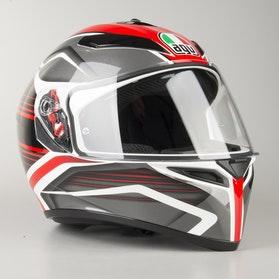 AGV K SV Proton Helmet Red-Grey-Black