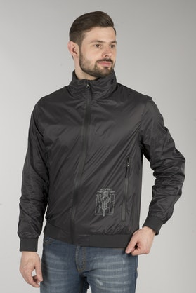 Acerbis Sp Club Windbreaker Jacket Dark Grey
