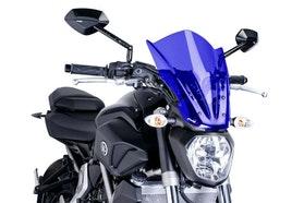 Owiewka Puig New Generation Touring Yamaha MT07 Niebieska