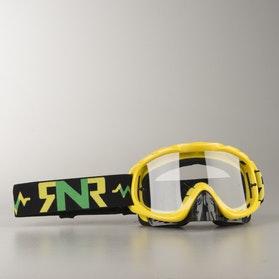 Gogle cross Rip 'n' Roll Hybrid Żółte
