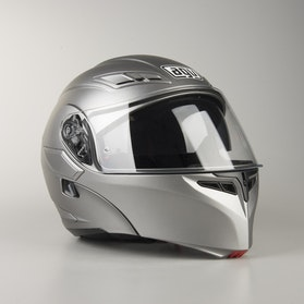 Kask AGV COMPACT szary Matowy