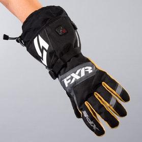 FXR Heated Recon Gloves Black