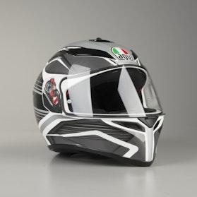 AGV K SV Proton Helmet White-Black-Grey