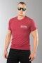 T-Shirt Alias Patch-2 Cardinal 76