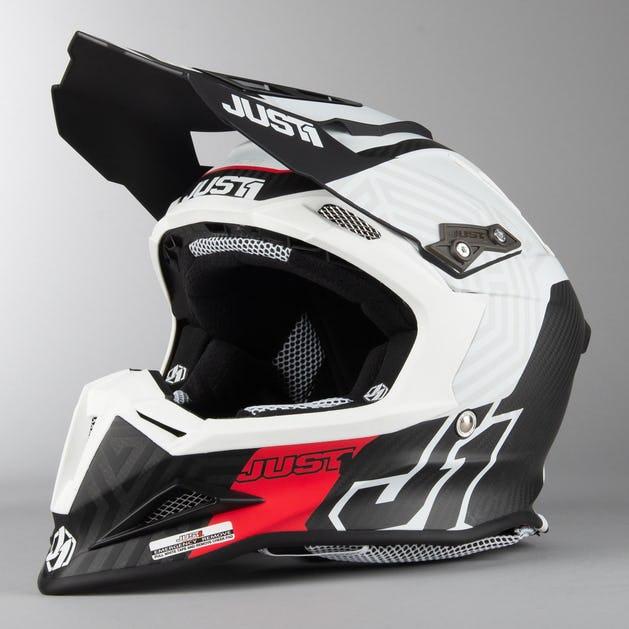 Just1 J12 Syncro MX Helmet White