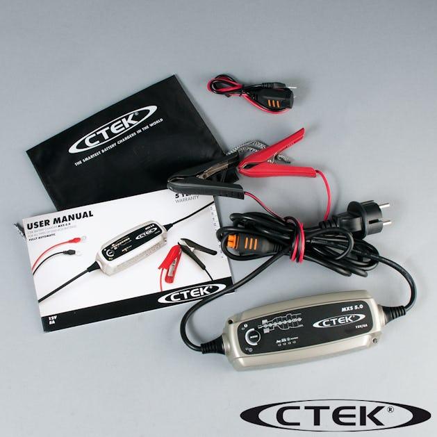 Underbar CTEK MXS 5.0 maintenance and charger - Buy it dirt cheap! - 24mx.ie TI-64