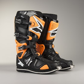 AXO A2 MX Boots Black & Orange