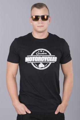 T-Shirt XLMOTO Chain Czarny