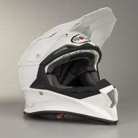 Suomy Alpha MX Helmet White