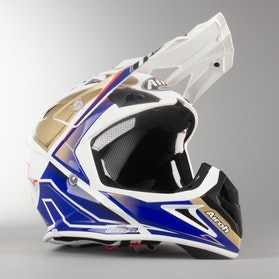 Airoh Aviator 2.2 Check Cross-Helmet Sand Gloss