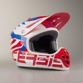 Acerbis Youth Impact 3.0 Helmet Red-Blue