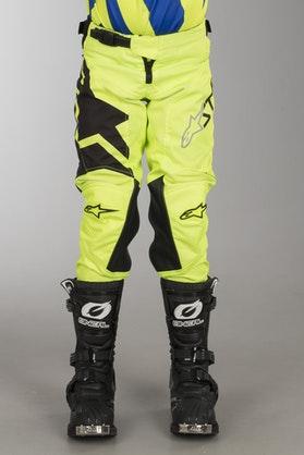 Alpinestars Racer Factory MX Pants Black-FlouYellow