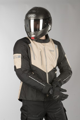 IXS Tour ST Jacket Black-Beige