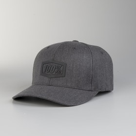 Kšiltovka 100% Flexfit Trek Charcoal Heather