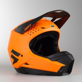 Shift Whit3 MX Helmet Orange MX 18