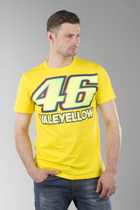 VR46 Valentino Rossi T-Shirt Yellow