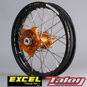 Baghjul TALON Excel Orange-sort