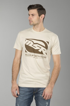 T-Shirt MSR Block Logo Tan