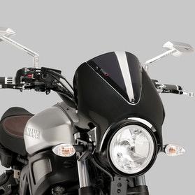 Owiewka Puig Retrovision Yamaha Karbon-Ciemna Przydymiona