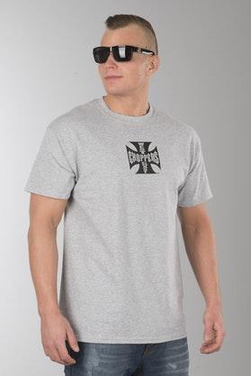 T-Shirt West Coast Choppers Austin Texas Szary