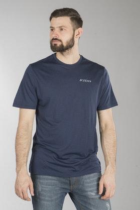T-Shirt Klim Teton Merino Wool, Blå